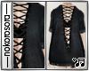 n. Black Laced Shirt