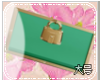 KELLY GREEN PURSE