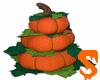Pumpkin Tower Decoration