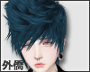 K  Seal Blue Hair