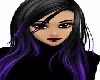 Gothic black purple