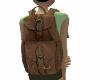 {LR}Leather Backpack
