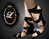 Liz black diamnd wedge