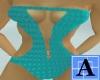 [A07]Swim Suit Aqua