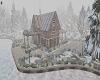 FOGGY SNOWY CHALET