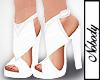 ! White Azuni Heels