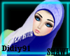 [AK]Shawl - Blue -