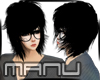Cute Emo Black Hairs B-C