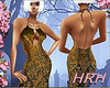 HRH Black&Gold Halter