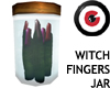Witch Fingers Jar