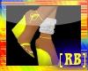 [RB] YELLOW WEDGE HEELS