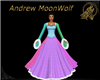 MW Fur Bead Gown