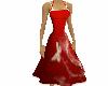 Red Deco Swing Dress