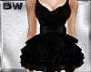Black Silk Ballet Dress