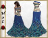 ~H~Peacock Dress 3