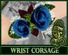 Wrist Corsage Navy