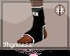 Blk MMA Socks