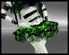 B green cyb' skirt