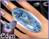 EDEN Huge Topaz Ring