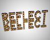 Reflect Marquee Letters