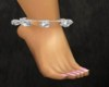 Silver Anklet w/sound {R