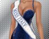 Miss Italy sash