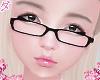 d. geek glasses blk