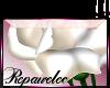 *R* White Rose Sticker