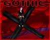 Gothic Cross Seat