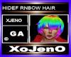HIDEF RNBOW HAIR