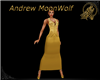 Regal Glitz Dress Gold