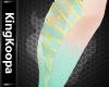 [K] L Mermaid Leg Fin