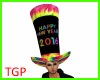 New Year Giant Hat M/F