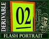 Derivable Flash Portrait