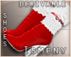 [Is] Santa Fur Boots Drv
