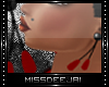 *MD*Black&Red|Earrings