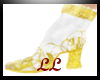 Silver Sultan boots