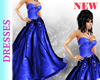 Blue Diana Gown