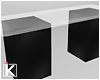 |K Black Party Table