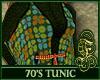 70's Tunic Green