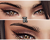 ❥ Black Eyebrows.
