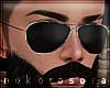 n| Black Aviator Glasses