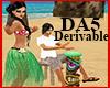 (A) Tiki Drum Hula Dance