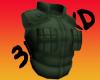 3DMAxD Kunoichi flak jac