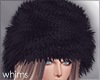 Fur Hat Black