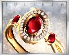 J! Gold Rubi ring