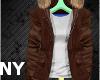 [NY] Stem Coat Brown