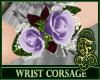 Wrist Corsage Lavender