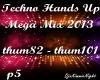 Techno Mega Mix 5/18