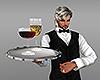 [M] Waiter Tray w/Juices
